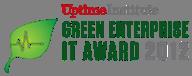 green data center award logo