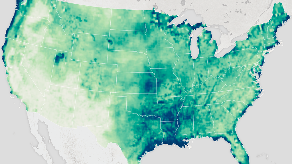 NASA Distributed Active Archive Center At NSIDC National Snow - Current Us Snow Cover Map
