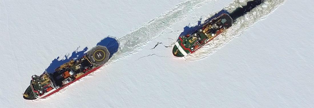HMS Protector, RV Ernest Shackleton