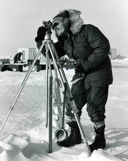 "Alan Gill AIDJEX 1972 pilot study.  Image Credit:  National Snow &amp; Ice Data Center <a href=""http://nsidc.org/data/aidjex/"">AIDJEX Web site</a> (<a href=""/cryosphere/gallery/photo/33479"">View photo detail.</a>) <br>"