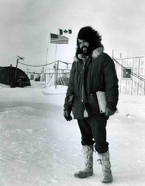 "AIDJEX 1972 pilot study. Pat Martin. Image Credit:  NSIDC courtesy Tom Marlar/CRREL <a href=""http://nsidc.org/data/aidjex/"">AIDJEX Web site</a> (<a href=""/cryosphere/gallery/photo/33484"">View photo detail.</a>) <br>"