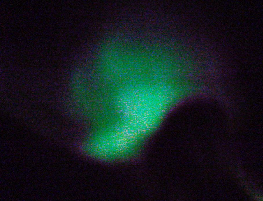 "While on the expedition, the crew got to see one of those rare phenomena: the southern lights, also named the aurora australis. Photo Credit: Courtesy Ted Scambos, NSIDC (<a href=""/cryosphere/gallery/photo/33190"">View photo detail.</a>) <br>"