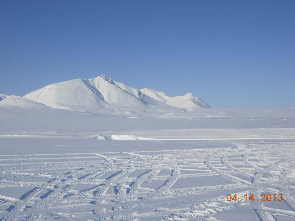 "Part of Brooks Range rises over the distance. (<a href=""/cryosphere/gallery/photo/34110"">View photo detail.</a>) <br>"