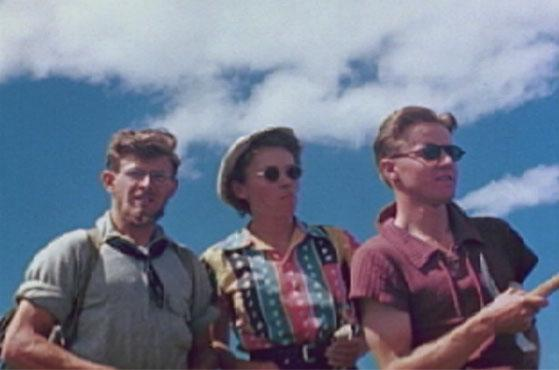 "Film still from <a href=""http://nsidc.org/data/g02175.html"">""Good Days on the Trail, 1938-1942: Film Footage of the Rocky Mountains, Colorado.""</a> (<a href=""/cryosphere/gallery/photo/33418"">View photo detail.</a>) <br>"