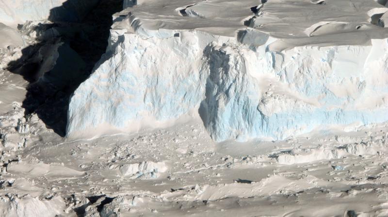 Thwaites Glacier calving front