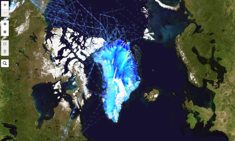 map widget from IceFlow
