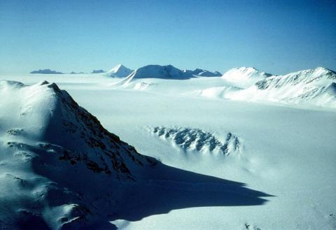 Photograph of the Harding Icefield