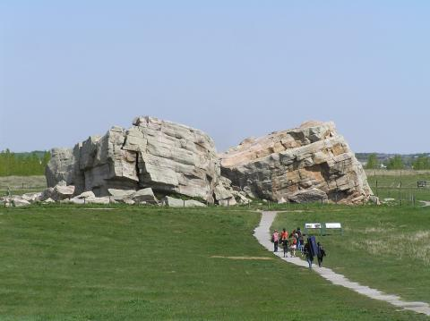 Photograph of Okotoks Erratic, Canada