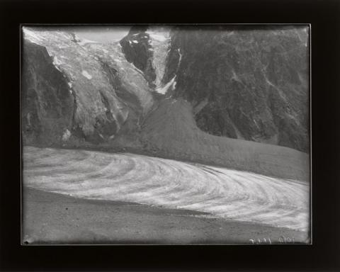 Historic photograph of Arolla Glacier, Switzerland, 1902