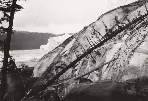 Historic photograph of Columbia Glacier, Alaska, 1909
