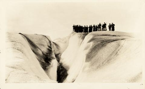 Historic photograph of Muir Glacier, Alaska, 1896