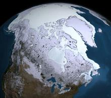 Arctic sea ice max