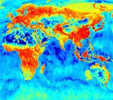 Moisture map