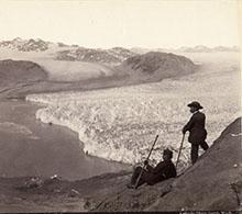 Early glacier photograph