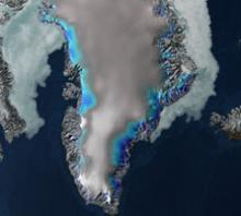Jakobshavn Glacier in 2008