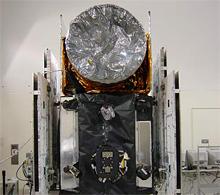 ICESat spacecraft