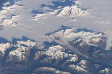 Photograph of the Southern Patagonian Icefield