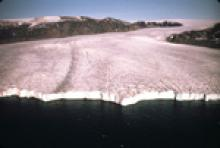 Photograph of Agpat Glacier, Greenland, 1969