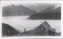 Historic photograph of Chickamin Glacier