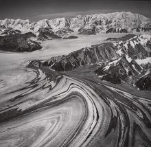 Historic photograph of Malaspina Glacier