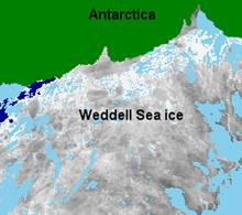 Ice surface temperature