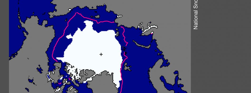 September 2015 extent map
