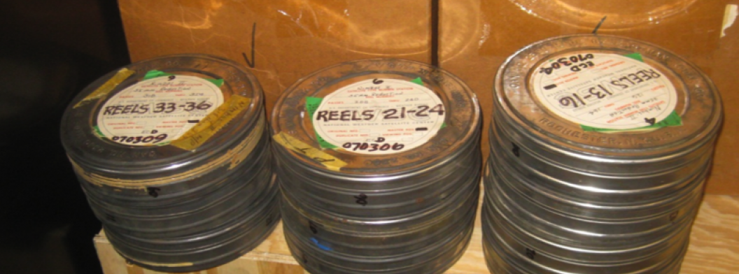 canisters full of photographic film reels