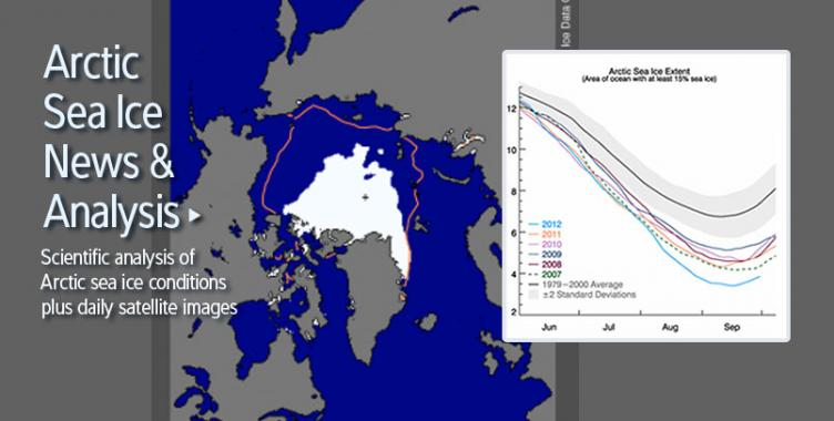 Arctic Sea Ice News and Analysis