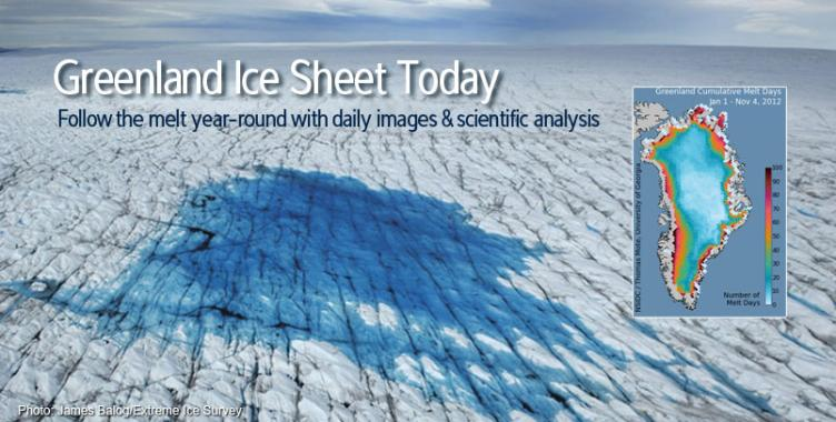 Greenland Ice Sheet Today
