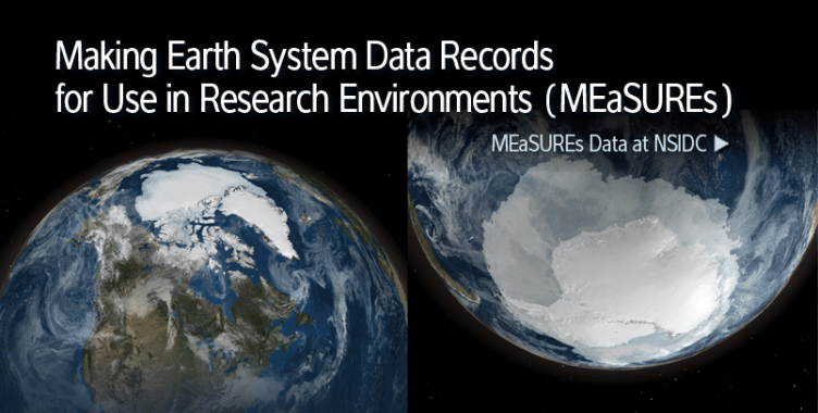 MEaSUREs data at NSIDC