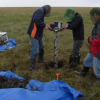 drilling into permafrost