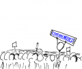"""Photo Credit: xkcd webcomic, """"The Wikipedian Protestor"""" , http://imgs.xkcd.com/comics/wikipedian_protester.png, Accessed Oct 07, 2016"""
