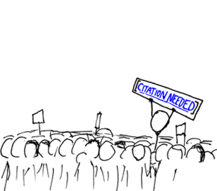"Photo Credit: xkcd webcomic, ""The Wikipedian Protestor"" , http://imgs.xkcd.com/comics/wikipedian_protester.png, Accessed Oct 07, 2016"